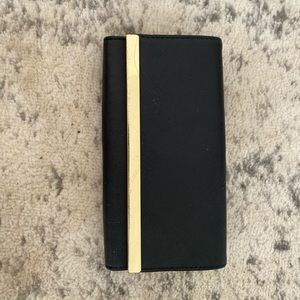 Target Black and Gold Wallet